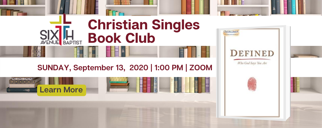 Website Banner 6th Ave - Christian Singles Book Club-Sept
