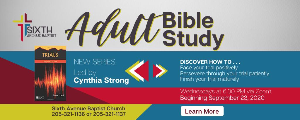 6th Adult Bible Study