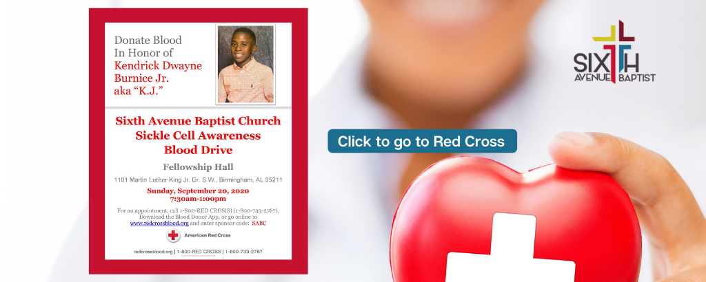 Banner-6th Red Cross Blood Drive