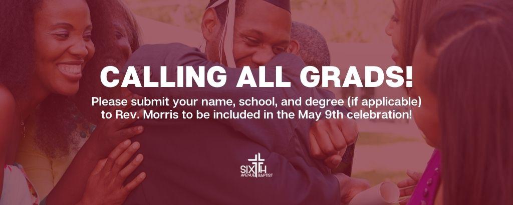 6th grads - 6th - banner